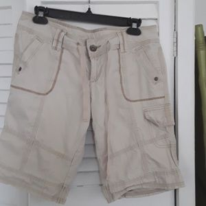 L.e.i. Cargo cord shorts
